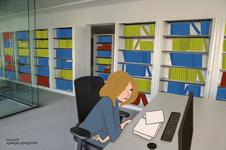 Illustrations pour petits films ; Allianz