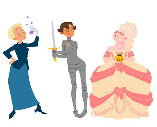 Marie Curie, Jeanne d'Arc, Marie Antoinette