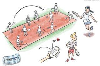 Tambour - Illustration Sport pour Salon a Montpellier et Toulouse