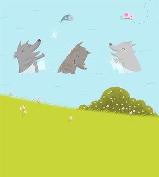 """Histoires de Loups"" Fleurus"