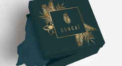 SUNGAI LOGOTYPE+ PACKAGING - Marie Piquemal