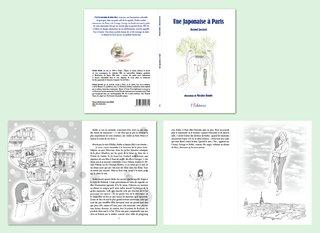 """Livre 1 """"Une Japonaise à Paris"""""""