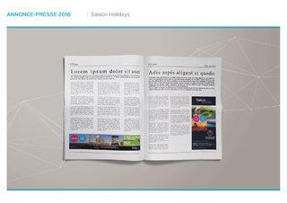 Annonce-presse - Salaün Holidays