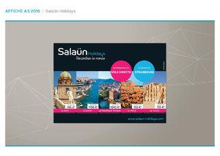 Affiche pour les salons - Salaün Holidays
