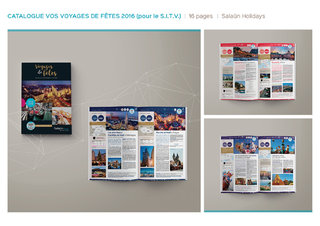 Brochure salon international du tourisme et du voyage - Salaün Holidays