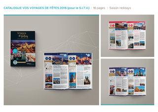 Brochure salon international du tourisme et du voyage - Salaün Holidays