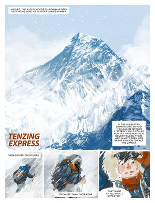 Tenzing Express 1/4