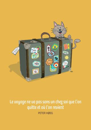 Carton d'invitation Retour en France