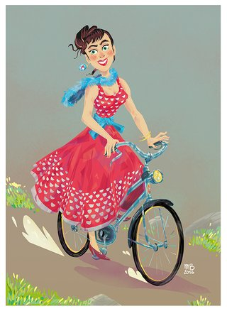 pinup Audrey Hepburn