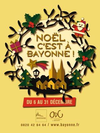 Bayonne Noel, projet affiche 2013