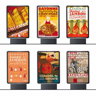 Illustrations & Affiches événements Bayonne