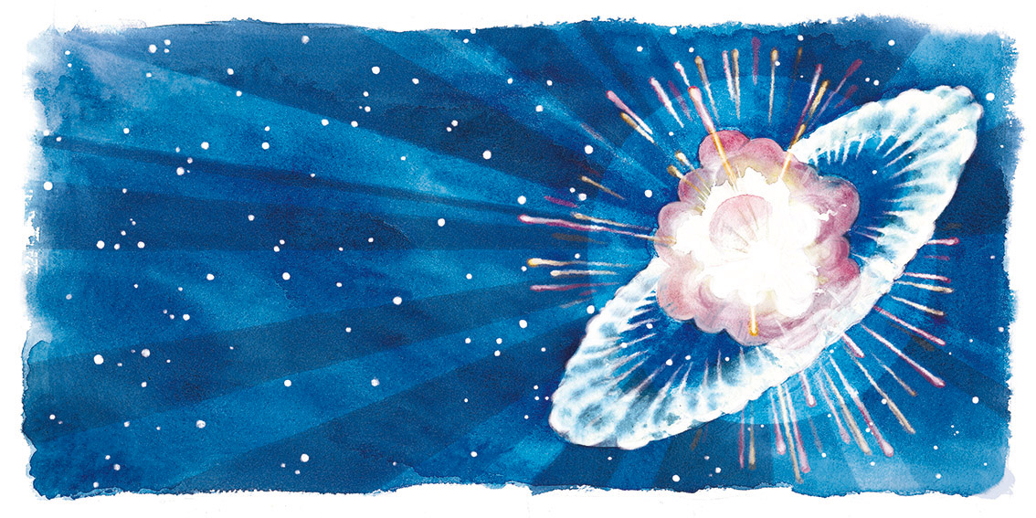 Je suis une étoile. Supernova