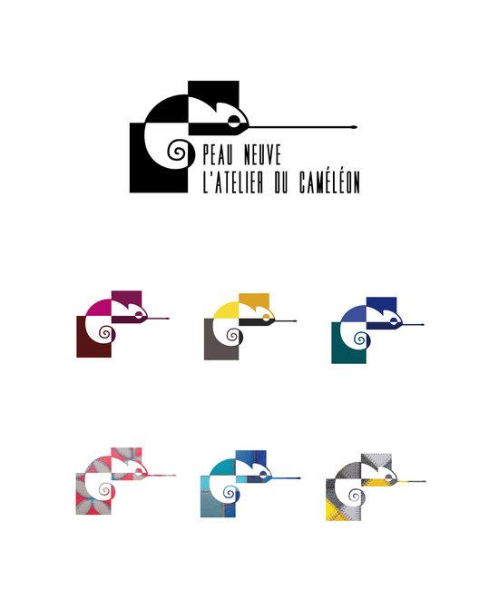 Logotype pour Peau Neuve - L'atelier Du Caméléon