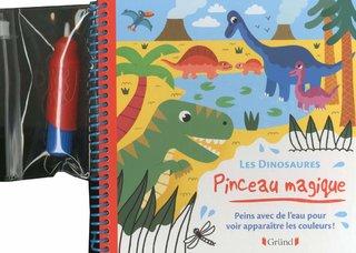 Pinceau magique- Les dinosaures