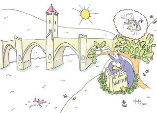 Cahors : le pont Valentré