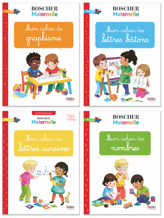 Cahiers BOSCHER maternelle 2019