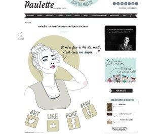 Paulette magazine Octobre