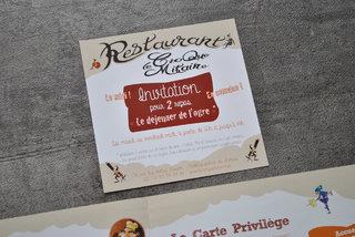 Le Croque Mitaine 'Invitation'