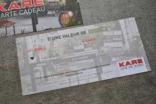 Kare 'Carte Cadeau'