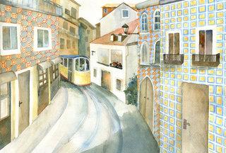 Pomme-Raisin à Lisbonne