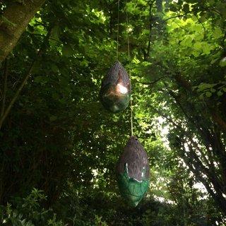 L'art au jardin, installation, Sartilly 2016