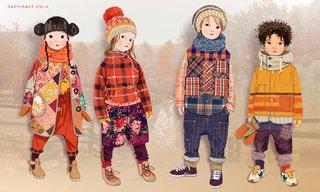 illustration mode enfant