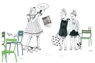 illustration pour le catalogue Tyrol en collaboration avec Nadia Bignon