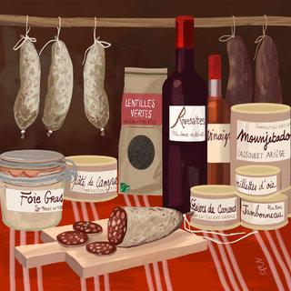 comptoir d'Occitanie