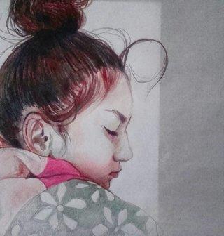 Suzanne endormie