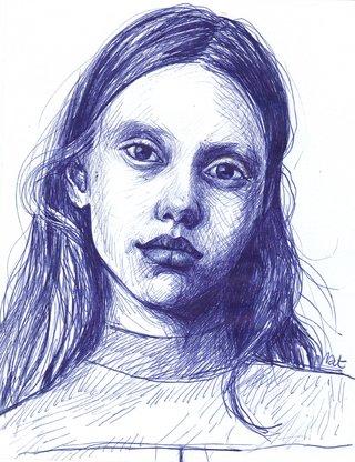 Mia Goth d'après une photo d'Harley Weir
