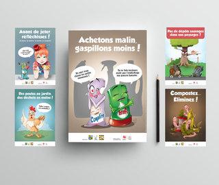 Affiches illustrées
