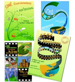 Affiche Ciné Environnement 2010