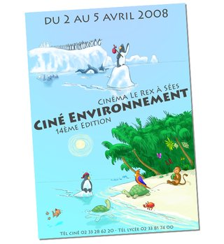 Affiche Ciné Environnement 2008