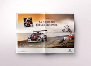 Poster Peugeot Sport