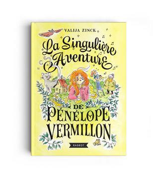 LA SINGULIˆRE AVENTURE DE P‰N‰LOPE VERMILLON - LETTERING - Illustration : Kim Konsigny  - Art direction : Cécile Kojima