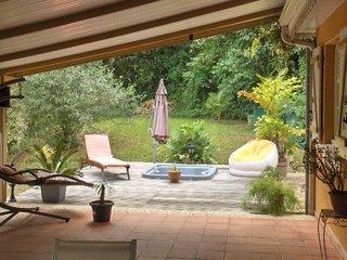 Projet Solarium Habitation Martinique - Photo de l'existant à transformer