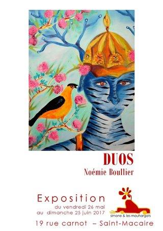 DUOS, Simone et les mauhargats, St Macaire (33), 2017