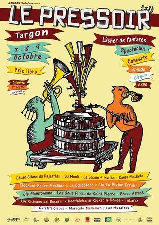 Illustration pour Le Pressoir, Targon (33), 2016