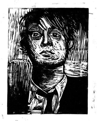 Portrait (Linocut)