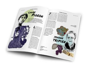 Nok Magazine (illustration and editorial design)