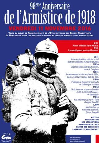 Affiche 11 novembre
