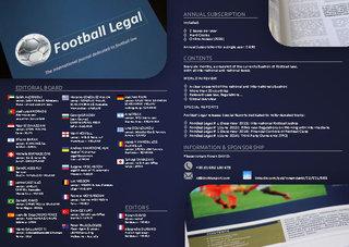 Dépliant Football Legal