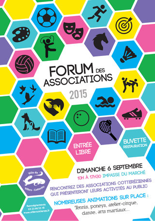 Affiche Forum des Associations
