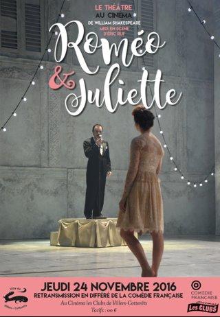 Affiche Roméo+Juliette