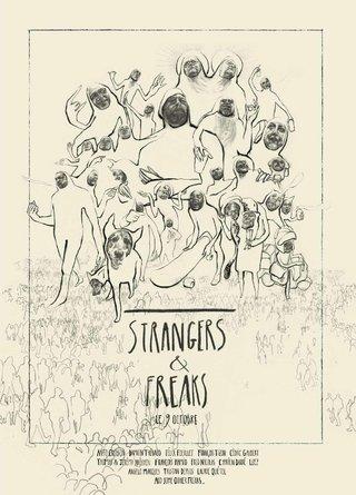 AFFICHE | STRANGERS & FREAKS