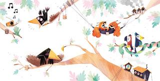 Seul sur un arbre - Marmaille & co