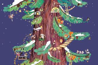 Noël dans le grand arbre - Fleurus édition