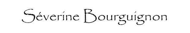 Portfolio de Séverine BourguignonPrésentation : Quelques mots à propos de