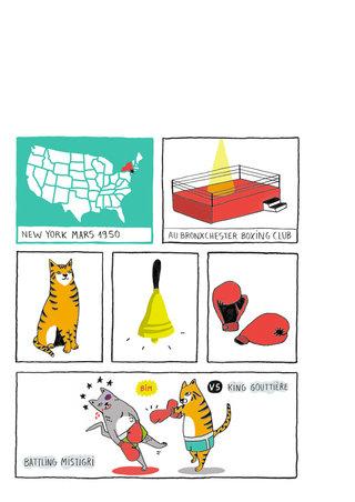 Bande-dessinée chats