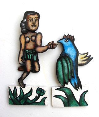 Femme et oiseau de Fernand léger